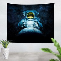 Reach For The Moon Tapestry