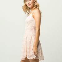 IVY & MAIN Lace Fit N Flare Dress