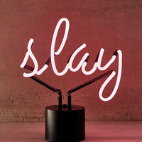 Slay Neon Sign Table Lamp | Urban Outfitters