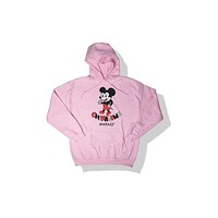 Chinatown Market Mouse Hoodie - Pink