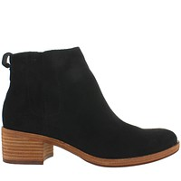 Kork-Ease Mindo - Black Suede Dual Gore Pull-On Bootie