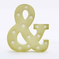 Ampersand Lamp - Urban Outfitters