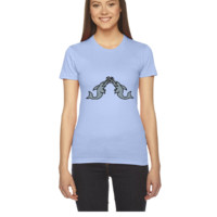 underwater sawfishfight 3c - Women's Tee