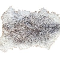 2x3 New Angora Throw Rug