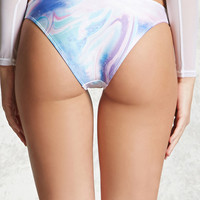 Abstract Cheeky Bikini Bottoms