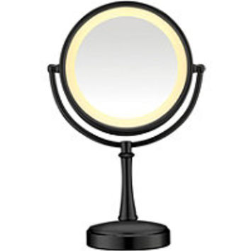 Conair Black Touch Control Lighted Makeup Mirror Ulta.com - Cosmetics, Fragrance, Salon and Beauty Gifts