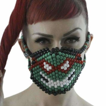 Raphael TMNT Ninja Turtles Surgical Kandi Mask