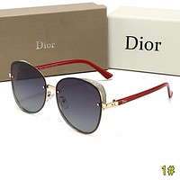 DIOR New Fashion Women Men Sun Shades Eyeglasses Glasses Sunglasses