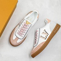 Louis Vuitton LV Frontrow Sneaker Rose Clair - Best Online Sale