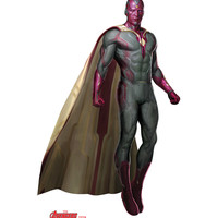 Vision Avengers Age Of Ultron Cardboard Standup