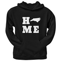 North Carolina Home Black Adult Hoodie