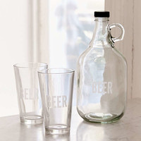To-Go Growler + Pint Glass Set | Urban Outfitters
