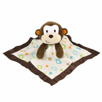Walmart: Garanimals Animal Antics Monkey Security Blanket with Plush Head