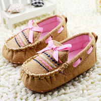 Baby Shoes Soft Fashion Boy Girl Infant Toddler Crib Shoes Newborn-18 Months