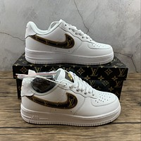 Morechoice Tuhz Nike Air Force 1 X Lv Low Sneakers Casual Skaet Shoes Ar7719-101