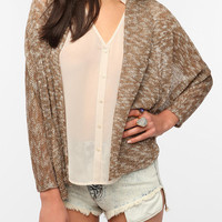 Urban Outfitters - Sparkle & Fade Batwing Sleeve Cardigan