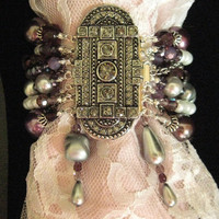 The Sugar Plum Fairy  Multistrand Pearl Crystal and by zoejane1