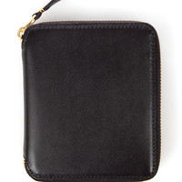 Comme des Garcons Medium Zip-Around Wallet - Black - SA2100 - WOMEN - Comme des Garcons