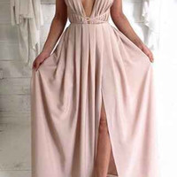 Fashion Creme Catalina Maxi Dress = 4765106052