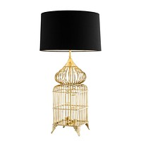 Bird Cage Base Table Lamp | Eichholtz La Cage