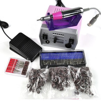 Electric Acrylic Nail Art File False Drill Set Manicure Pedicure Machine Kit  7_S = 1917037380