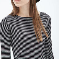 FOREVER 21 Striped Jersey Tee