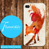 FOX case for iphone 4 case,iphone 4s case, iphone 5 case, iphone 5s case, iphone 5c case