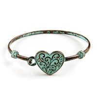 Rusty Love Bangle