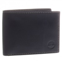 Timberland Antique Waxy Goat Leather Bifold Commuter Wallet