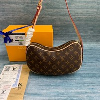 LV Louis Vuitton WOMEN'S MONOGRAM CANVAS VINTAGE SHOULDER BAG