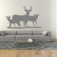 Wall Decal Deer Style E Vinyl Wall Decal 22330