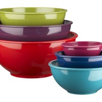 6-Piece Melamine Bowl Set in New Dining & Entertaining | Crate&Barrel