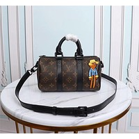 LV Louis Vuitton MONOGRAM CANVAS ZOOOOM WITH FRIENDS HANDBAG SHOULDER BAG
