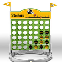 Connect Four NFL Game - Pittsburgh Steelers