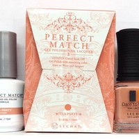 Lechat Perfect Match Gel Polish + Matching Nail Polish PMS225 Tea Party