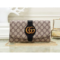 GUCCI fashionable monochrome printed shoulder bag hot seller of casual lady shopping bag #5
