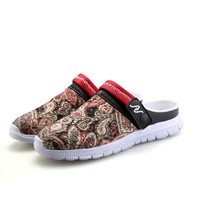Summer Knit Permeable Casual Stylish Shoes Slippers [6542337667]