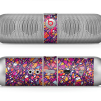 The Shards of Neon Color Skin for the Beats by Dre Pill Bluetooth Speaker