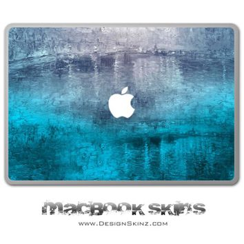 Abstract Oil Painting MacBook Skin