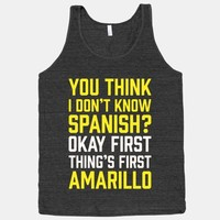 First Thing's First, Amarillo