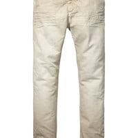 Relaxed slim fit chino - Scotch & Soda