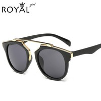 ROYAL GIRL Women Sunglasses Round Shades Cat Eye Glasses