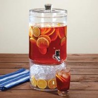 Artland Simplicity 2-Gallon Beverage Dispenser with Lid, 2-Part--For the Home-Kitchen Linens & Rugs-Sets & Collections