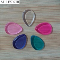water drop-shaped Blender makeup puff For Liquid Foundation BB Cream Beauty Essentials brand SILLENORTH Silicone Sponge puffs