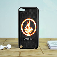 Divergent Dauntless The Brave iPod Touch 5 Case Sintawaty.com