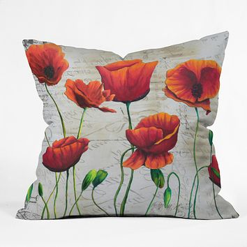 Madart Inc. Soft Wind Blowing Outdoor Throw Pillow