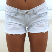 Faded Into You Denim Shorts
