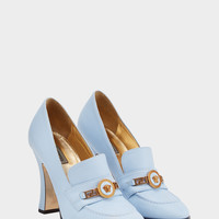 Versace Tribute Loafer Heels for Women | US Online Store