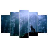 Promotion HD Printed Canvas Paintings Wall Art Oil Painting For Living Room Unframed And With Frame Free Shipping