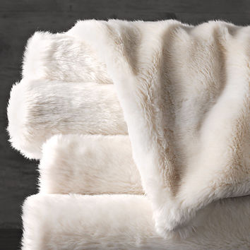 Luxe Faux Fur Throws